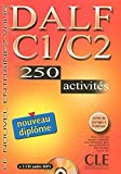 img - for DALF C1/C2: 250 Activities [With Booklet and MP3] (Nouvel Entrainez-Vous) (French Edition) by Richard Lescure (2004-08-01) book / textbook / text book