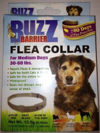 Buzz Barrier Flea Collar For Dogs (Small 5-30 Lbs)