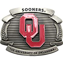 Licensed Oklahoma Sonners Belt Buckle