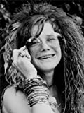 VINTAGE MUSIC PHOTOGRAPHY PORTRAIT SINGER JANIS JOPLIN 18X24'' POSTER ART PRINT LV11290