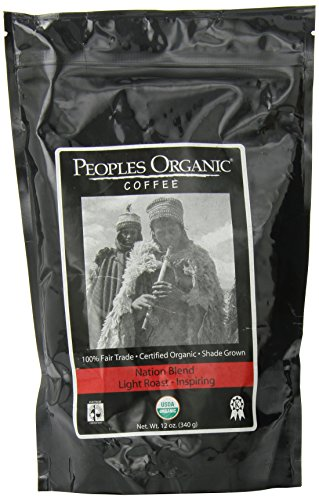 People'S Organic Ground Coffee, Nation Blend, 12 Ounce