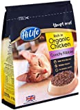HiLife Tempt Me! Cat Food Crunchy Kibbles Organic Chicken '5 x 375 Bags'