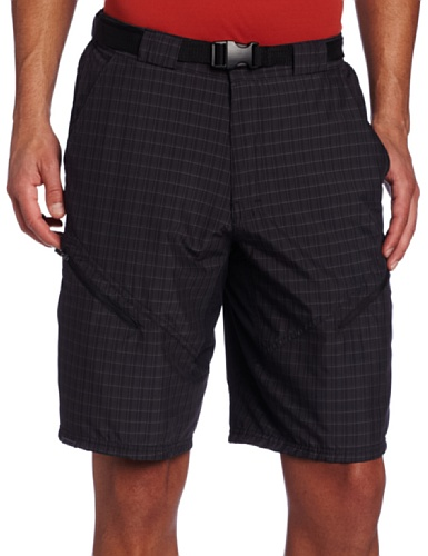 Zoic Men's Black Market Plaid Bike Shorts with RPL Liner