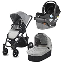 UPPAbaby Vista Travel System, Mica/Jake
