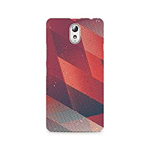 Ebby Linear Gradient Arrows Premium Printed Case For Lenovo Vibe P1M