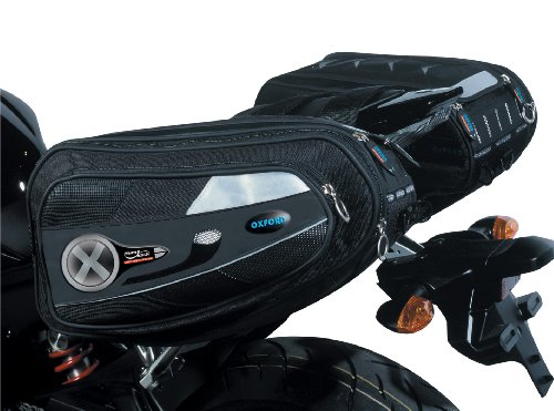 Oxford Products Humpback Panniers - Black