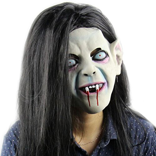 Samgo Halloween Japanese Ghost Stories Latex Decoration Costume Masks