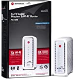 ARRIS SURFboard SBG6700AC DOCSIS 3.0 Cable Modem/ Wi-Fi AC1600 Router - Retail Packaging - White