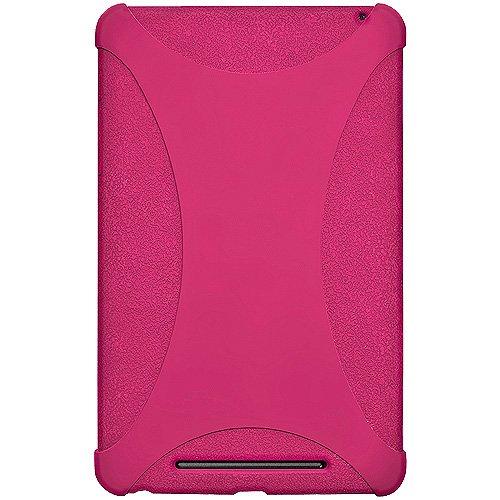 Imagen de Amzer AMZ94388 silicona caso Jelly Soft Skin Fit for Asus Nexus 7, Google Nexus 7 - 1 Pack - empaquetado al por menor - Hot Pink