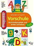 Fragenbär Vorschule: Buchstabenspiele und erstes Schreiben