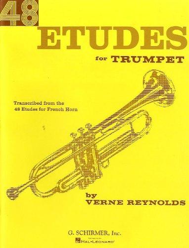 verne-reynolds-48-etudes-for-trumpet-partitions-pour-trompette