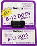 TwinLab - B-12 Dots, 500 mcg, 100 sublingual tablets