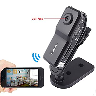 Toughsty™ Mini Portable P2P Wifi Hidden Camera Video Recorder DV Action Camcorder for Iphone Android Ipad PC Remote View