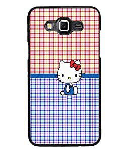 PrintDhaba Kitty D-5041 Back Case Cover for SAMSUNG GALAXY GRAND MAX (Multi-Coloured)