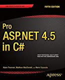 img - for Pro ASP.NET 4.5 in C# book / textbook / text book