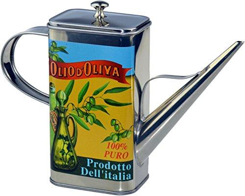 Bouteille d'huile d'olive de la collection de vaisselle Argon (design en forme de bouteille) - 500ml (17 oz)