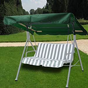 com outdoor swing canopy replacement porch top cover seat patio