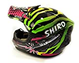 Shiro-MX-306-Casco-Cross-Infantil-ROCKID-KIDS-Verde-Talla-L-53-54-cm