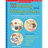 20 Reading and Writing Centers: Fun Literacy-Building Centers With Ready-to-Use Picture Cards, Word Cards, Templates, Game Boards, and More ~ Rosalie Franzese