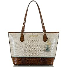 Medium Asher Tote<br>Linen Tri-Color