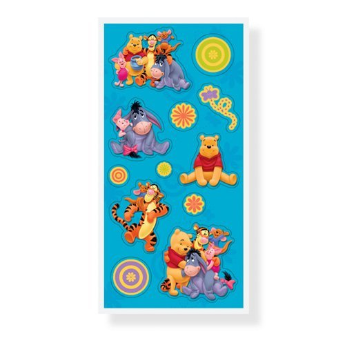 Pooh's Time Together Stickers - 4 Sheets - 1