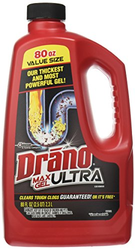 Drano Max Gel Clog Remover, 160 Fluid Ounce (Blowout Drain Cleaner compare prices)