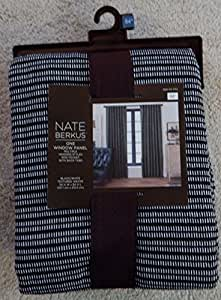 Nate berkus textured weave window panel for Nate berkus window treatments