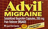 Advil Migraine - 80 Liquid Filled Capsules