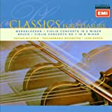 EMI Classics for Pleasure: Mendelssohn Violin Concerto, Bruch Violin Concerto No. 1