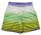 Hurley Toddler Boys Multicolor Plaid Printed Mesh Cool Shorts