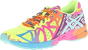 ASICS Women's Gel-Noosa Tri 9 Running Shoe,Flash Yellow/Turquoise/Berry,12 M US