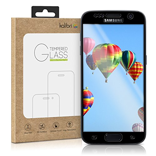 kalibri-Echtglas-Displayschutz-fr-Samsung-Galaxy-S7-3D-Curved-Full-Cover-Screen-Protector-mit-Rahmen-in-Schwarz