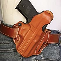 Desantis Thumb Break Scabbard Holster fits Walther PPS, Right Hand, Tan Basketweave