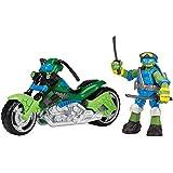 Teenage Mutant Ninja Turtles Mutating Quad Rotor Vehicle with Leonardo Vehicle