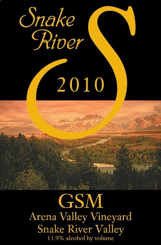 2010 Snake River Gsm Red Blend 750 Ml