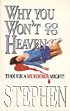 img - for Why You Won't Go to Heaven: Though a Murderer Might book / textbook / text book