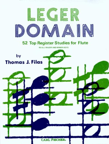 Leger Domain - 52 Register Studies for Flute - (In all Major and Minor Keys) (Domain Register compare prices)