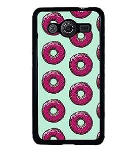 Printvisa Ultra Pink doughnuts 2D Hard Polycarbonate Designer Back Case Cover for Samsung Gal...