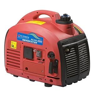 Trueshopping® Petrol Generator Portable Suitcase Digital 0.7KVA 2.0HP Camping Caravan Motor Home Generators 2 Stroke Oil Silent Lightweight
