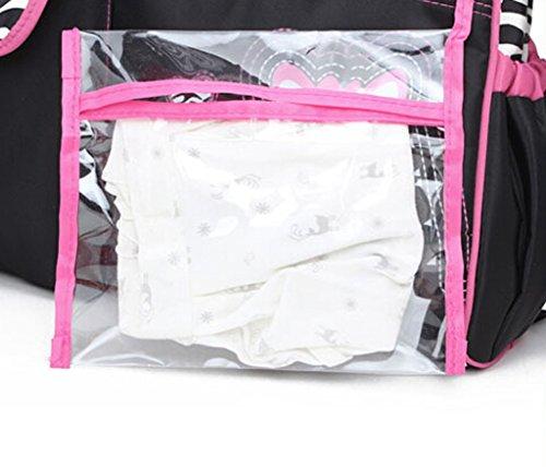 KAMAY'S® 600D imperméable momie sac bandoulière sac à langer Chic sac à langer