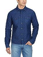 Gas Jeans Camisa Hombre (Denim)
