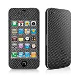 Apple iPhone 4用スキンシール【Carbon Fiber】