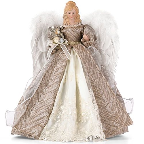 Small Angel Christmas Tree Topper: Angel UnLit Tree Toppers