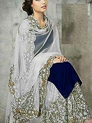 Shree Fashion Women's Silk Unstitched Dress Materials [D90]