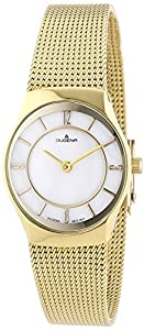 Damen-Armbanduhr XS Dugena Basic Analog Quarz Edelstahl beschichtet 4460343
