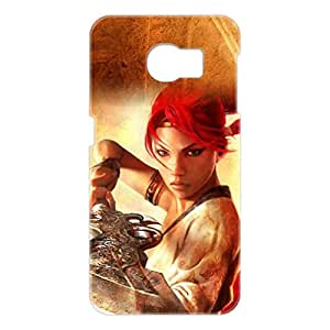 a AND b Designer Printed Mobile Back Cover / Back Case For Samsung Galaxy S6 Edge (SG_S6_3D_1162)