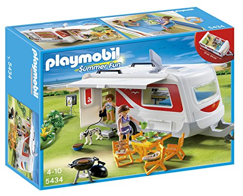 PLAYMOBIL Family Caravan (Camper Playmobil compare prices)