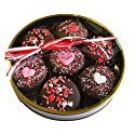 Valentine's Day Deals - Chocolate Dipped Oreo Cookies decorated with Hearts & Be Mine for Valentine's Day - 7 Oreo Assortment