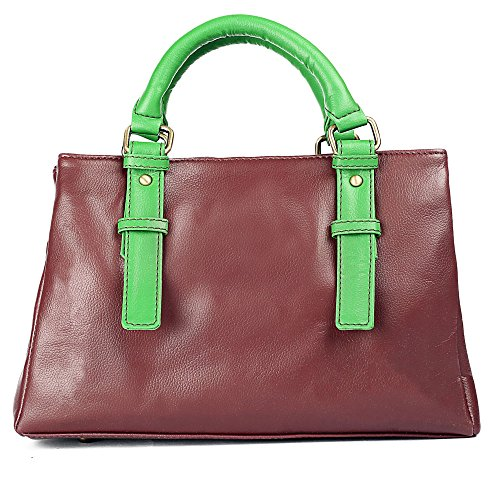 Bagsy Malone Bagsy Malonetenor Handle Bag (Maroon)