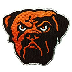 Cleveland Browns Logo Embroidered Iron Patches